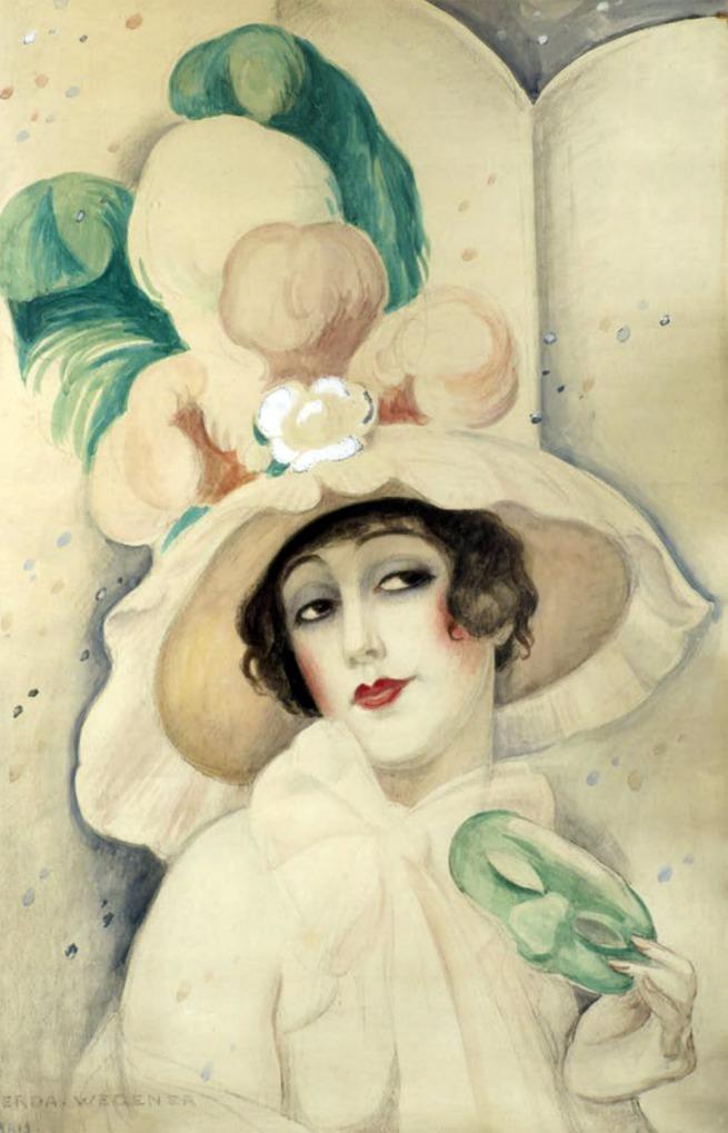 Gerda Wegener. 'Carnival, Lily' Paris, 1928