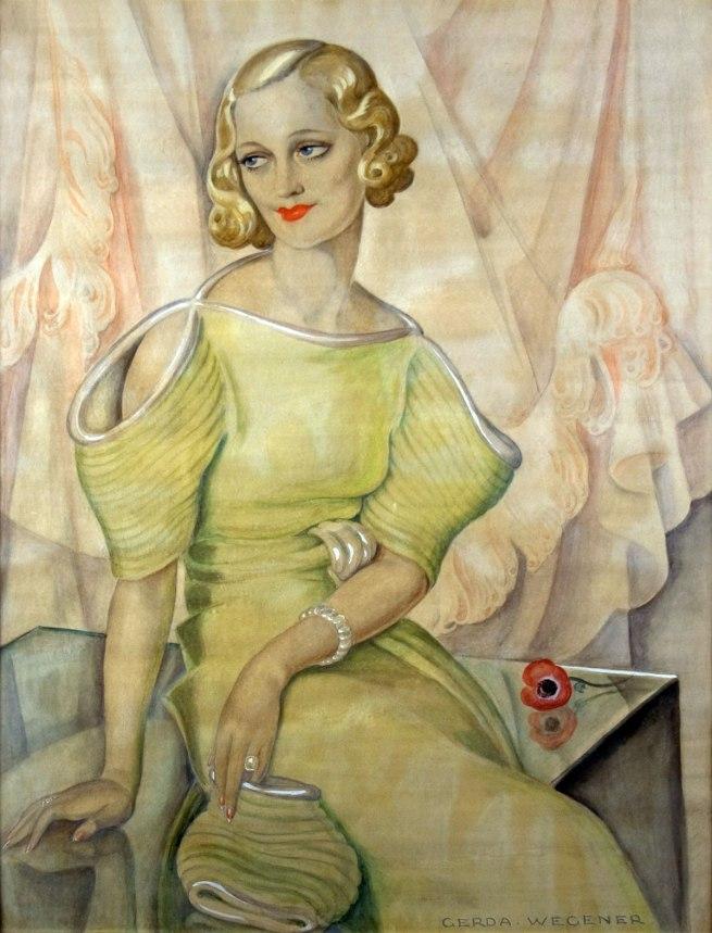 Gerda Wegener (1885-1940) 'Eva Heramb' 1934