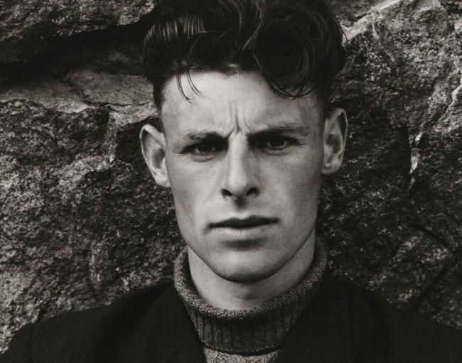 Paul Strand (American, 1890 - 1976) 'Angus Peter MacIntyre, South Uist, Hebrides' 1954 (detail)