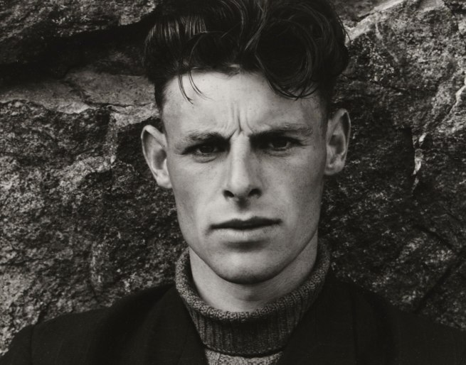 Paul Strand (American, 1890 - 1976) 'Angus Peter MacIntyre, South Uist, Hebrides' 1954 (detail)