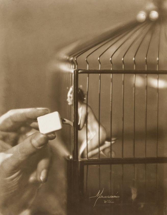 Atelier Manassé. 'Mein Vogerl / My bird' c. 1928
