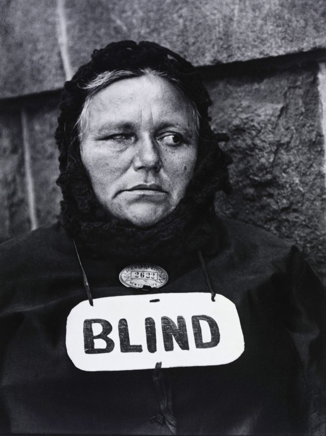 Paul Strand (American, 1890 - 1976) 'Blind Woman, New York' 1916