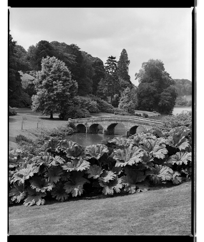 Marcus Bunyan. 'Bridge, Chatsworth House' 1993