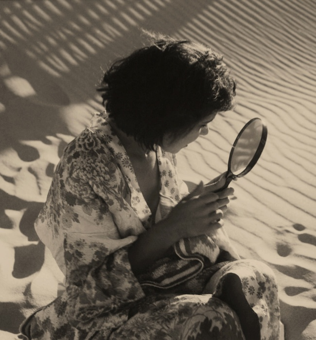 Olive Cotton (Australian, 1911 - 2003) 'Girl with mirror' 1938