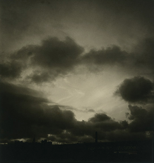 Olive Cotton (Australian, 1911 - 2003) 'Over the city' 1940