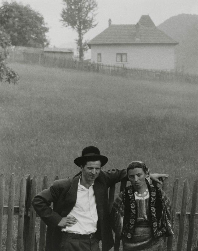 Paul Strand (American, 1890 - 1976) 'Couple, Rucăr, Romania' 1967