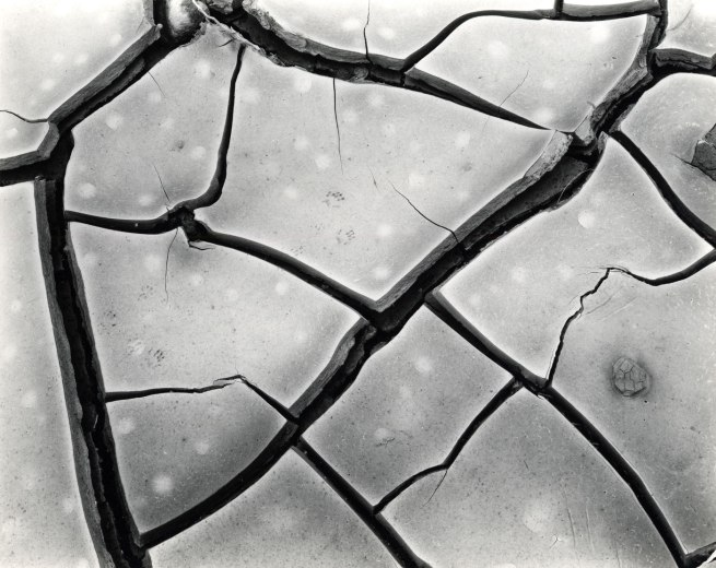 Brett Weston. 'Untitled (Cracked Mud, High Sierra, California)' 1960