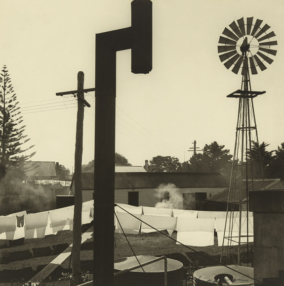 Max Dupain (Australian, 1911 - 1992) 'Backyard, Forster, New South Wales' 1940