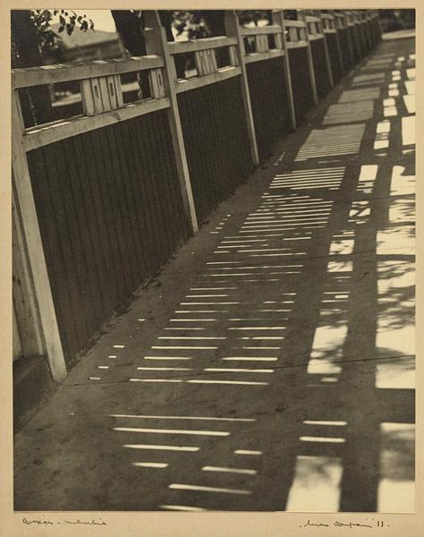 Max Dupain (Australia 1911 - 1992) 'Design - suburbia' 1933
