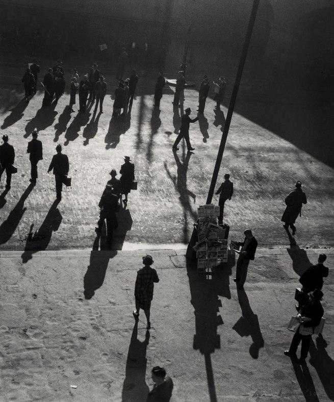 Max Dupain (Australian, 1911 - 1992) 'Street at Central' 1939
