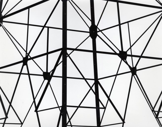 Brett Weston. 'Electrical Towers, Metal' c. 1975