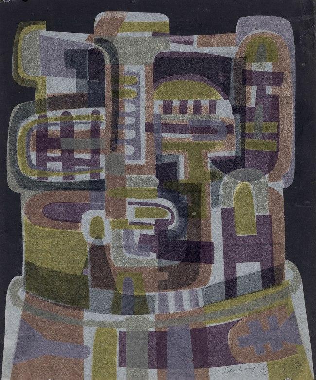 Jan Senbergs (born Latvia 1939, arrived Australia 1950) 'Head' 1963