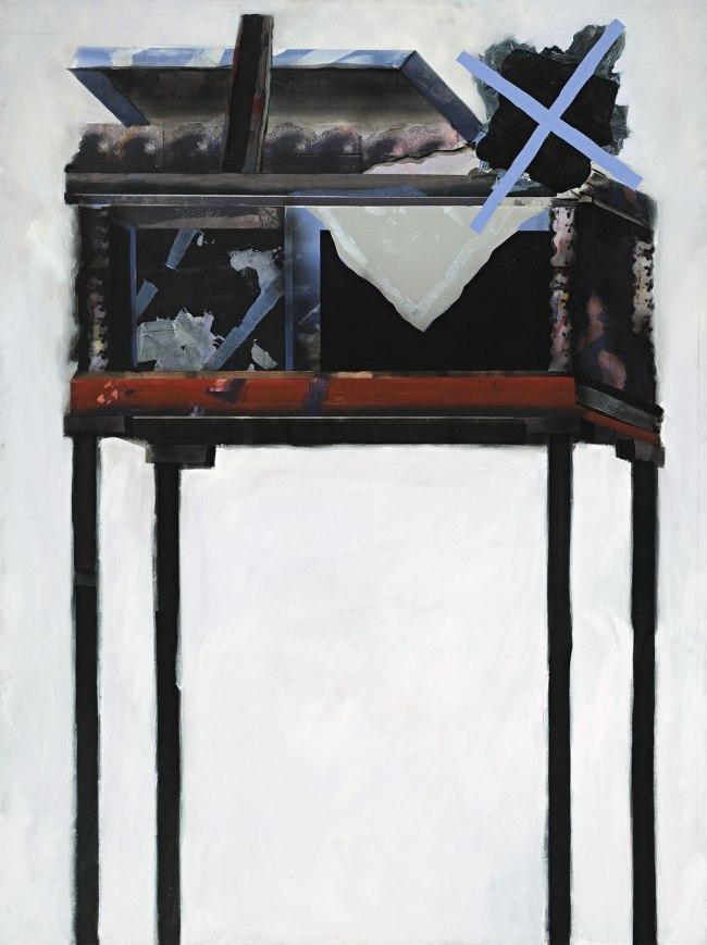 Jan Senbergs (born Latvia 1939, arrived Australia 1950) 'Observation post 2' 1968