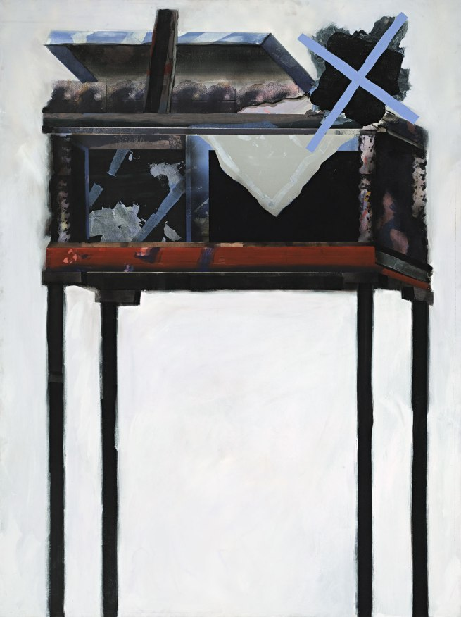 Jan Senbergs (born Latvia 1939, arrived Australia 1950) 'Observation post 2' 1968