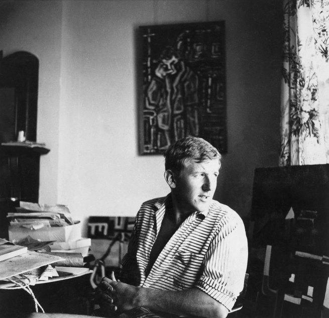 Alan Kilner. 'Jan Senbergs, Melbourne' c. 1959