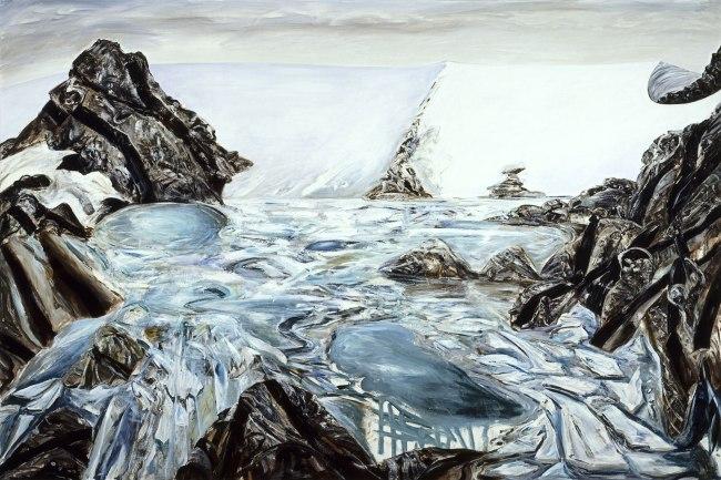 Jan Senbergs (born Latvia 1939, arrived Australia 1950) 'Platcha' 1987