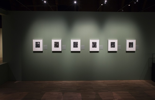 Installation photograph of the exhibition 'Paul Strand: Photography and Film for the 20th Century' at the Victoria & Albert Museum, London