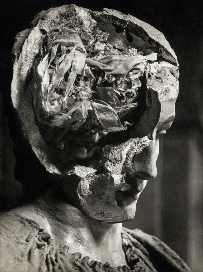 Josef Sudek. 'Gipskopf / Plaster head' c. 1947