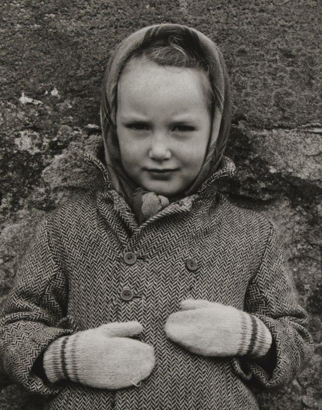 Paul Strand (American, 1890 - 1976) 'Katie Margaret Mackenzie, Benbecula, Hebrides' 1954 (detail)