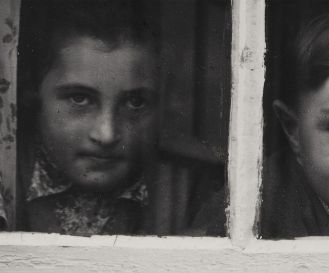 Paul Strand (American, 1890 - 1976) 'Milly, John and Jean MacLellan, South Uist, Hebrides' 1954 (detail)
