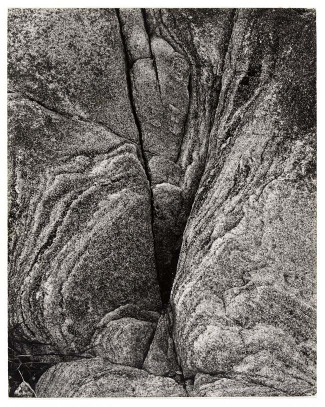 Paul Strand (American, 1890 - 1976) 'Rock, Loch Eynort, South Uist, Hebrides' 1954