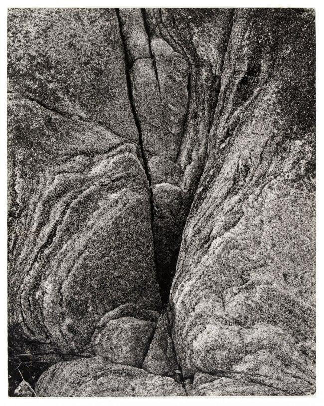 Paul Strand (American, 1890 - 1976) 'Rock, Loch Eynort, South Uist, Hebrides' 1954