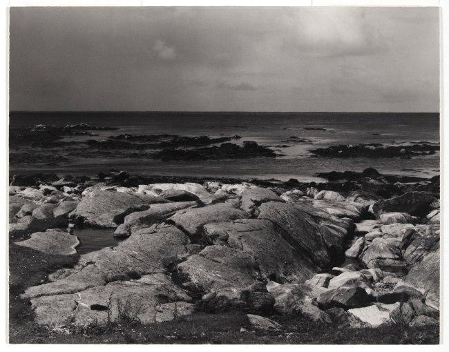 Paul Strand (American, 1890 - 1976) 'Sea Rocks and Sea, The Atlantic, South Uist, Hebrides' 1954