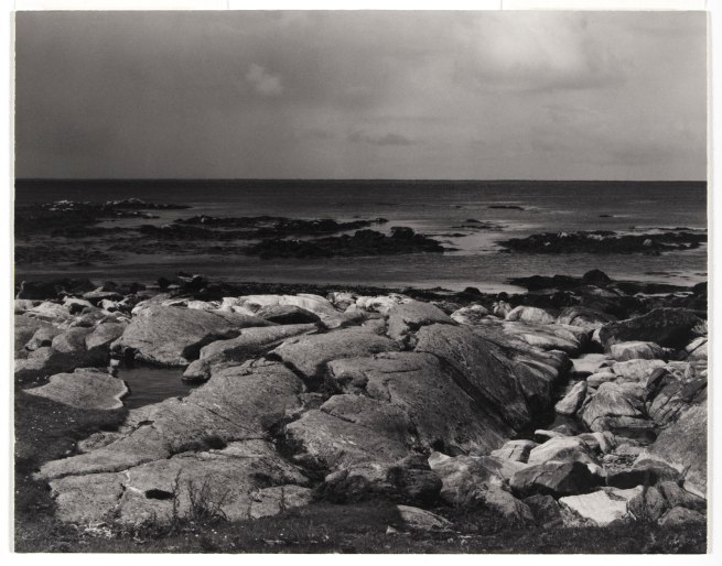 Paul Strand (American, 1890 - 1976) 'Sea Rocks and Sea, The Atlantic, South Uist, Hebrides' 1954