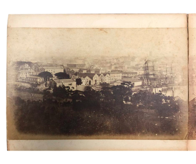 William Blackwood (1824 - 1897) 'Panorama of Sydney & Harbour from Government House' 1858 section 2