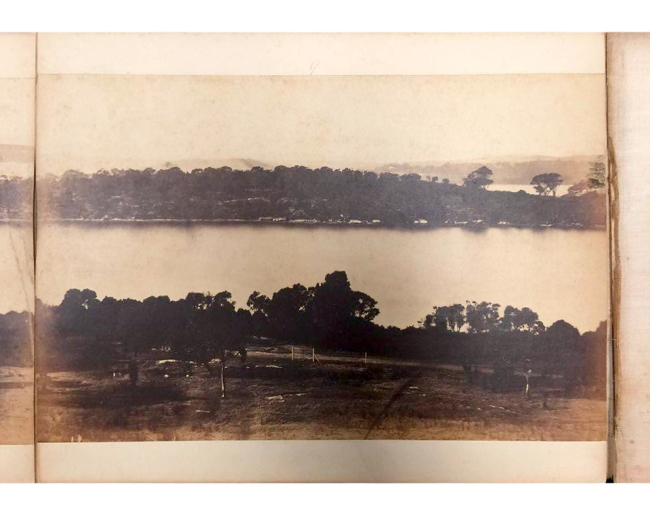 William Blackwood (1824 - 1897) 'Panorama of Sydney & Harbour from Government House' 1858 section 9