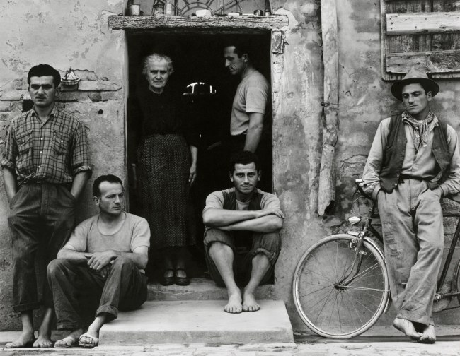 Paul Strand (American, 1890 - 1976) 'The Family, Luzzara (The Lusettis)' 1953 (negative); mid- to late 1960s (print)