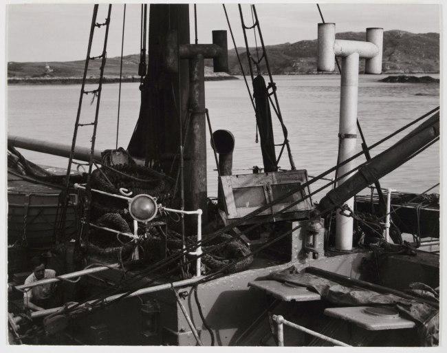 Paul Strand (American, 1890 - 1976) 'Trawler, South Uist, Hebrides' 1954