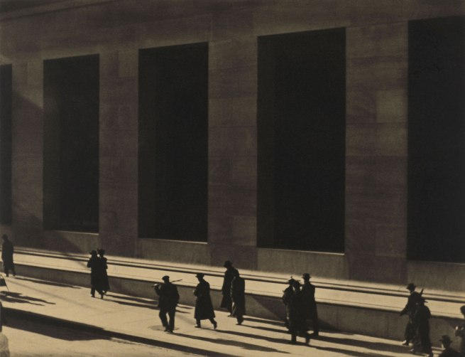 Paul Strand. 'Wall Street, New York' 1915