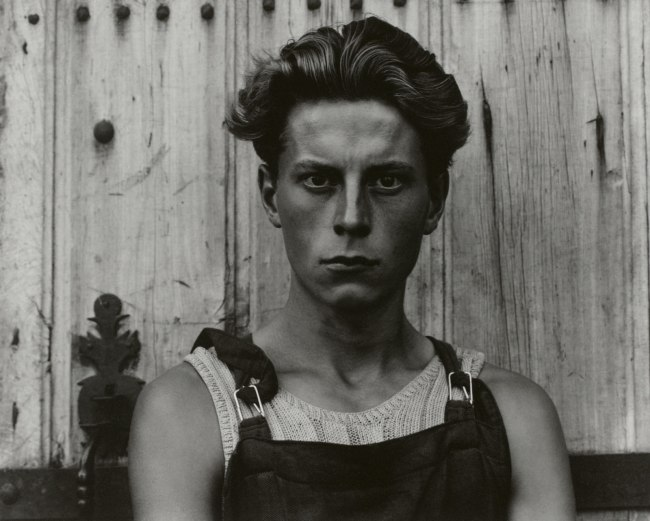 Paul Strand (American, 1890 - 1976) 'Young Boy, Gondeville, Charente, France' 1951 (negative); mid- to late 1960s (print)