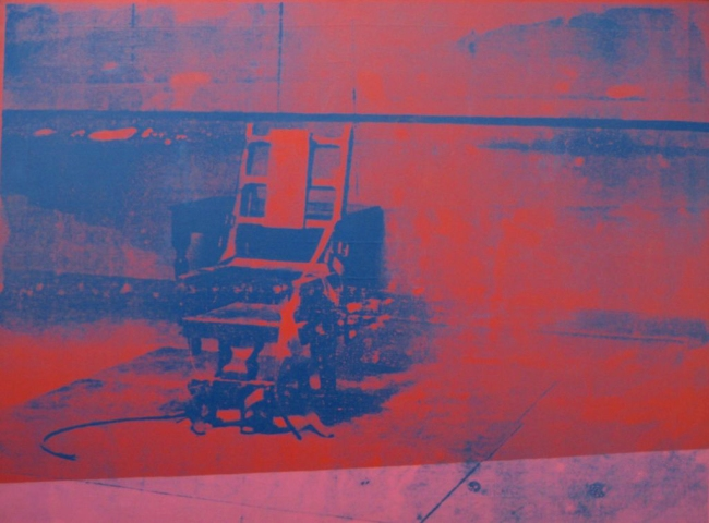 Andy Warhol (American, Pittsburgh, Pennsylvania 1928 - 1987 New York) 'Electric Chair' 1971