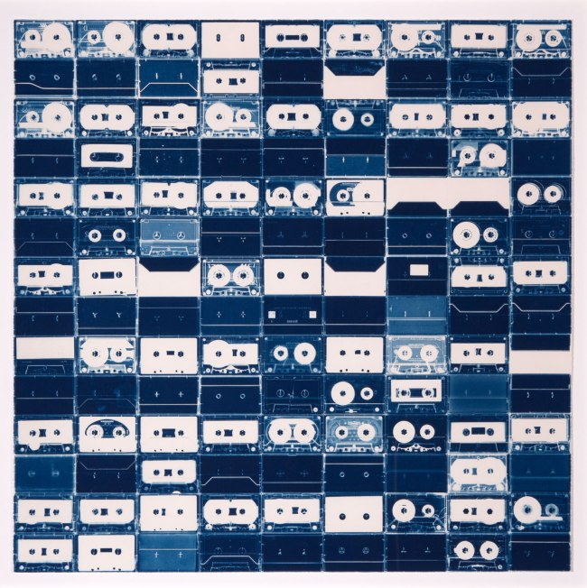 Christian Marclay (US) 'Large Cassette Grid No. 6' 2009