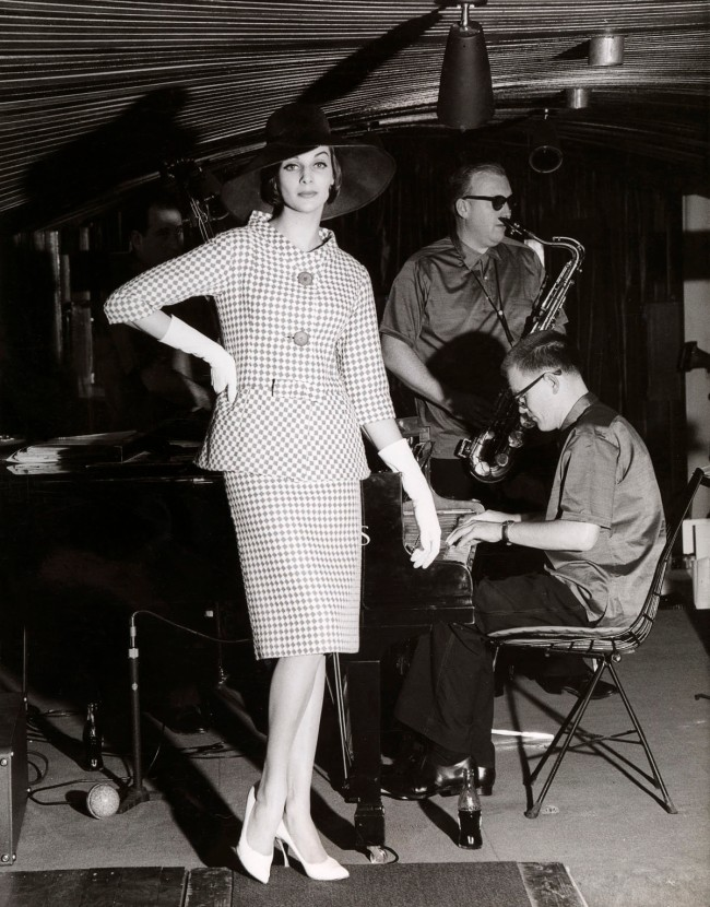 Henry Talbot (Germany 1920 - Australia 1999, Australia from 1940) 'No title (Fashion illustration, model Maggie Tabberer)' 1960