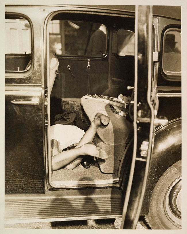 Unknown (American) '[Automobile Murder Scene]' c. 1935