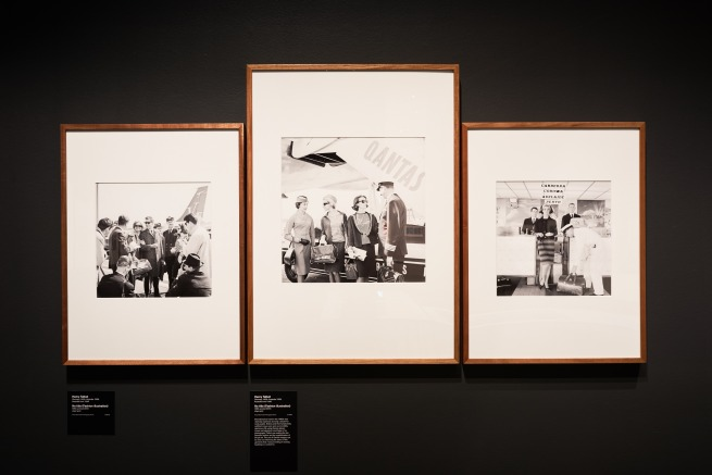 Installation view of the National Gallery of Victoria's 'Henry Talbot: 1960s Fashion Photographer' exhibition at NGV Australia at Federation Square