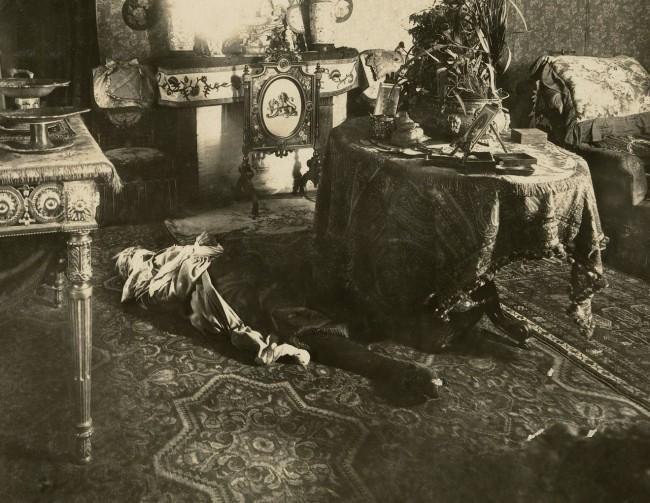 Alphonse Bertillon (French, 1853 - 1914) '[Album of Paris Crime Scenes]' 1901-8