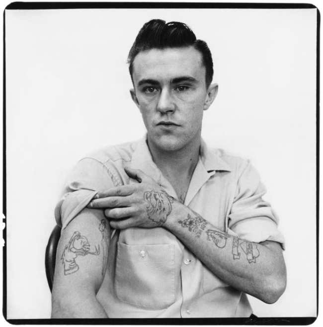 Richard Avedon (American, New York 1923 - 2004 San Antonio, Texas) 'Dick Hickock, Murderer, Garden City, Kansas' April 1960