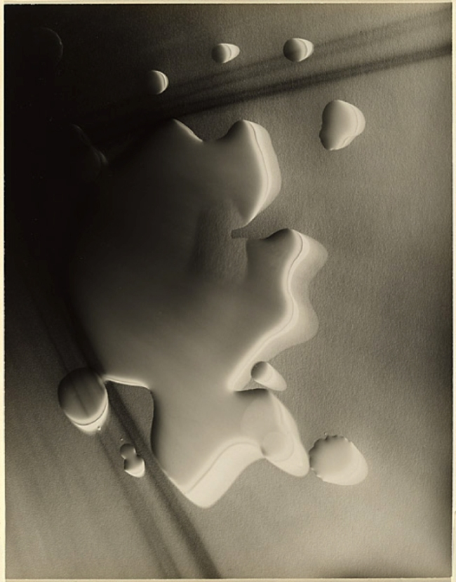 Max Dupain (Australia) 'Untitled rayograph [with water]' 1936