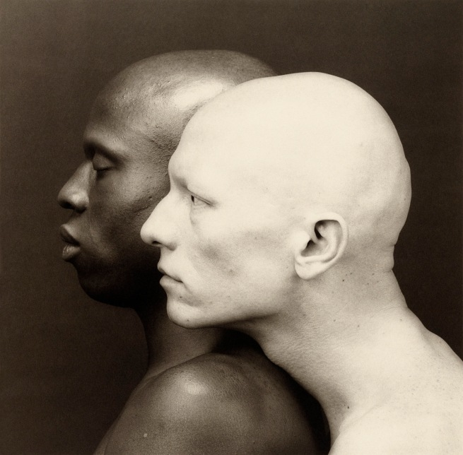 Robert Mapplethorpe (American, 1946-1989) 'Ken Moody and Robert Sherman' 1984