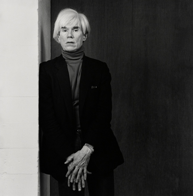 Robert Mapplethorpe (American, 1946-1989) 'Andy Warhol' 1983