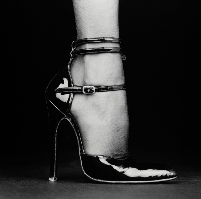 Robert Mapplethorpe (American, 1946-1989) 'Melody (Shoe)' 1987