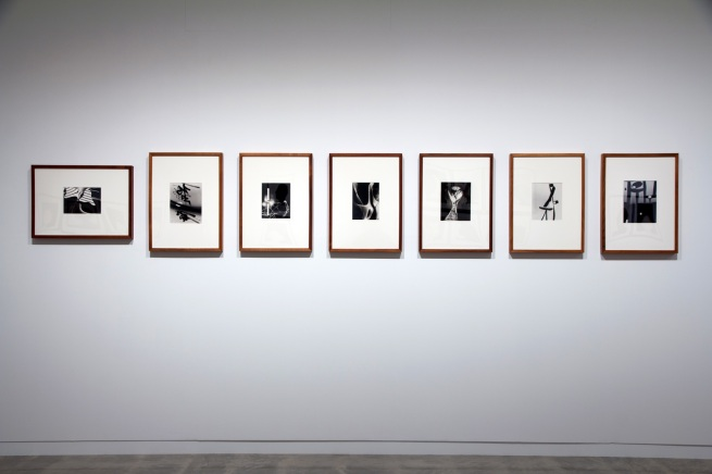 Installation view of György Kepes