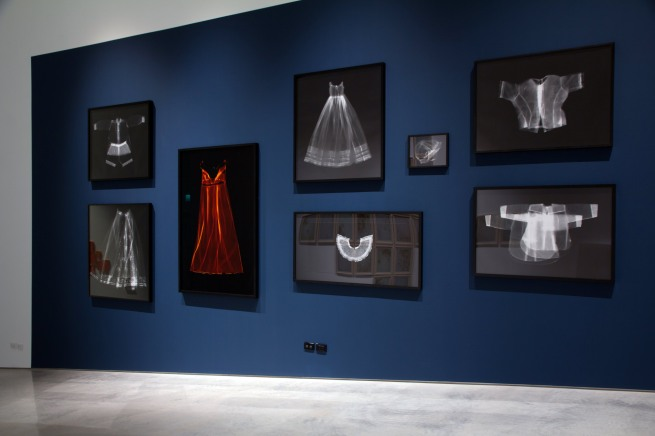 Installation view of the work of Anne Ferran