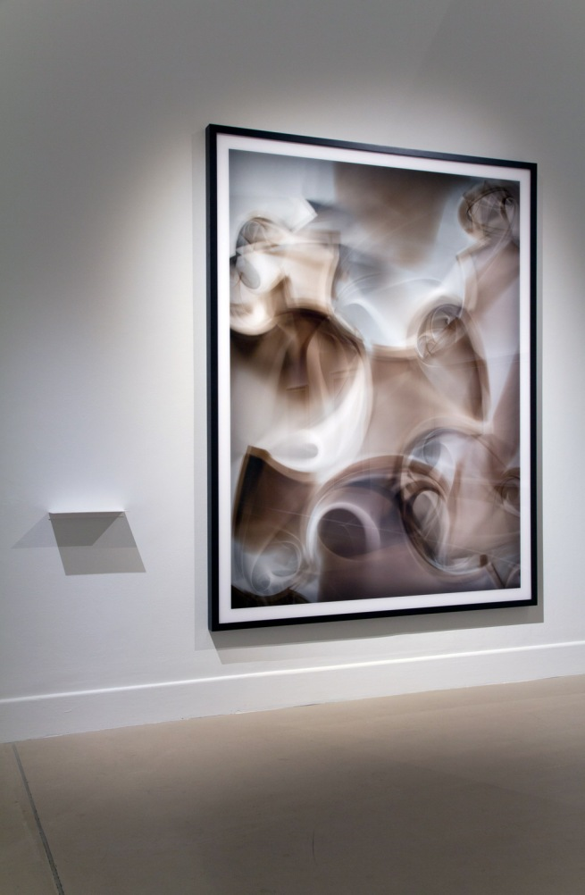 Installation view of Thomas Ruff (Germany) 'r.phg.07_II' 2013