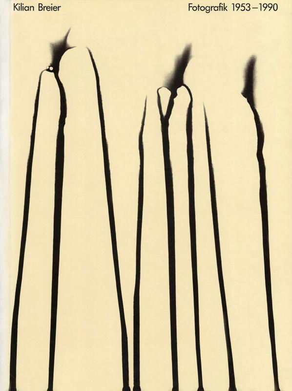 Kilian Breier. 'Kilian Breier: Fotografik 1953-1990' 1991 (cover)