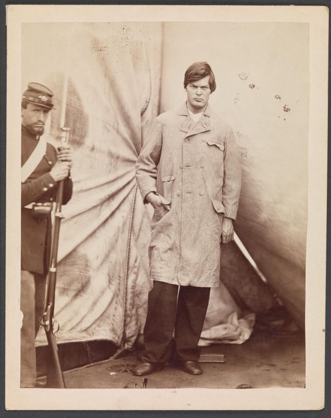 Alexander Gardner (American, Glasgow, Scotland 1821 - 1882 Washington, D.C.) 'Lewis Powell [alias Lewis Payne]' April 27, 1865